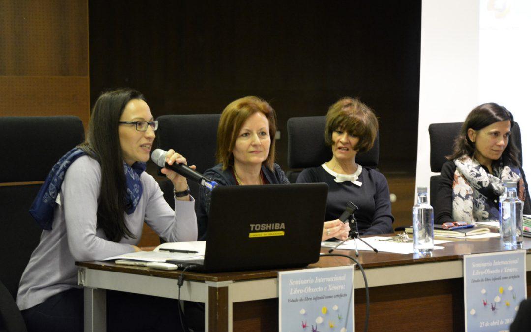 El Seminario Internacional Libro-Obxecto y Xénero reune a expertas procedentes de 9 universidades