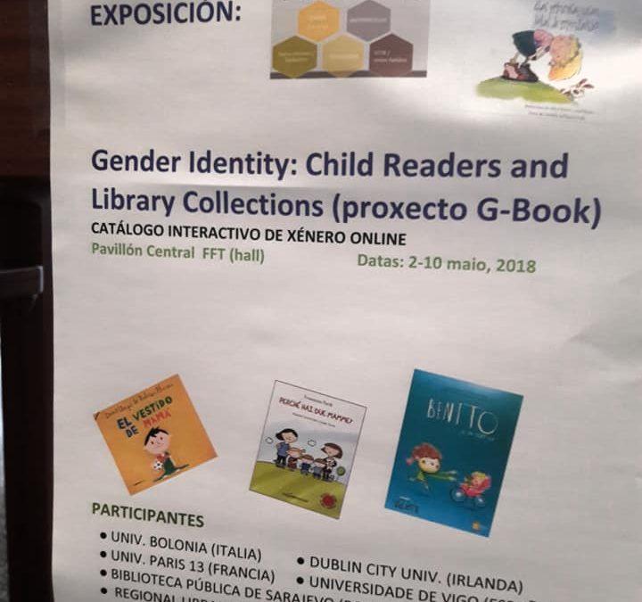 Exposición libros temática de género