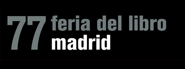 Feria del libro de Madrid: Mesa redonda, 6 junio, 2018