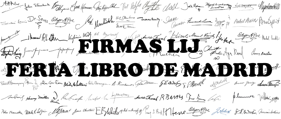 Firmas 77ª Feria del Libro de Madrid 2018 (LIJ)