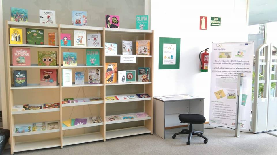 Exposición Gender identity: child readers and library collections en la Biblioteca Rosalía de Castro